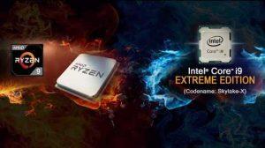 Intel Core i9 y AMD Ryzen